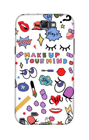 Makeup Your Mind Samsung Note 2 Cases & Covers Online