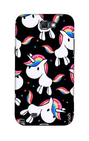 Colourful Unicorn Samsung Note 2 Cases & Covers Online