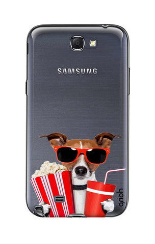 Dog Watching 3D Movie Samsung Note 2 Cases & Covers Online