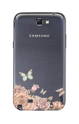Flower And Butterfly Samsung Note 2 Cases & Covers Online