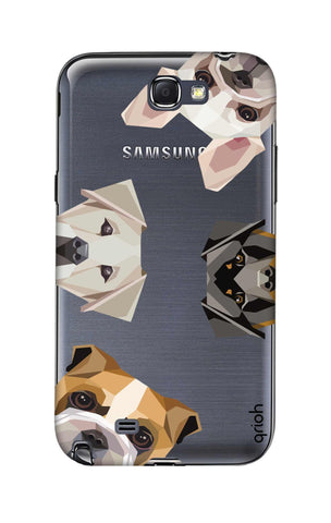 Geometric Dogs Samsung Note 2 Cases & Covers Online