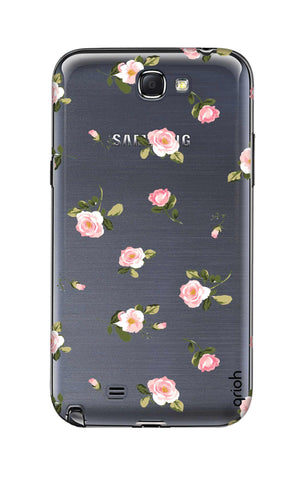 Pink Rose All Over Samsung Note 2 Cases & Covers Online