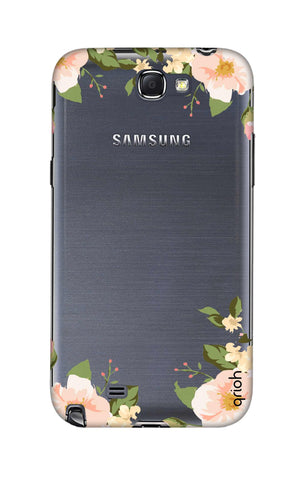 Flower In Corner Samsung Note 2 Cases & Covers Online