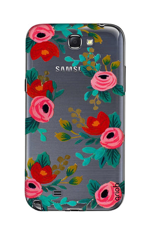 Red Floral Samsung Note 2 Cases & Covers Online