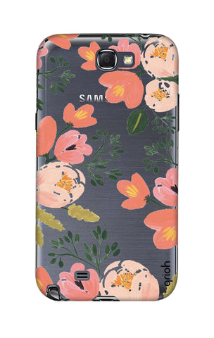 Painted Flora Samsung Note 2 Cases & Covers Online