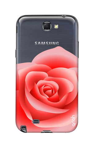 Peach Rose Samsung Note 2 Cases & Covers Online