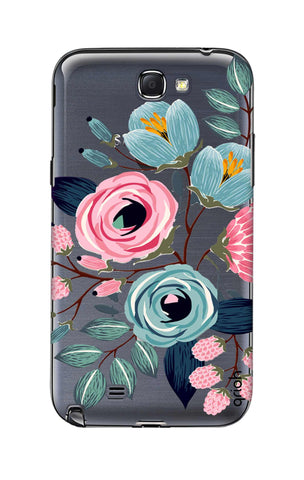 Pink And Blue Floral Samsung Note 2 Cases & Covers Online