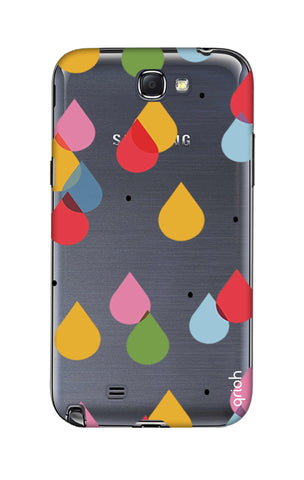Colourful Drops Samsung Note 2 Cases & Covers Online