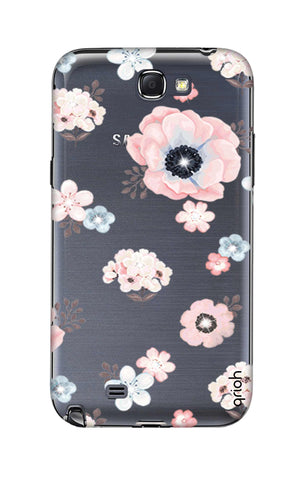 Beautiful White Floral Samsung Note 2 Cases & Covers Online