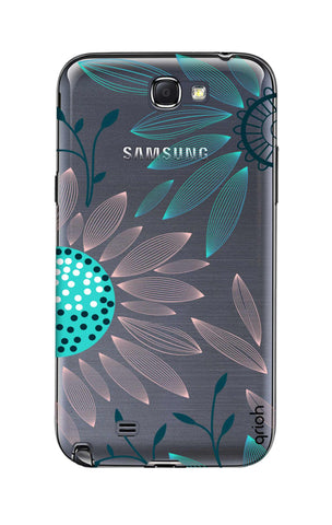 Pink And Blue Petals Samsung Note 2 Cases & Covers Online