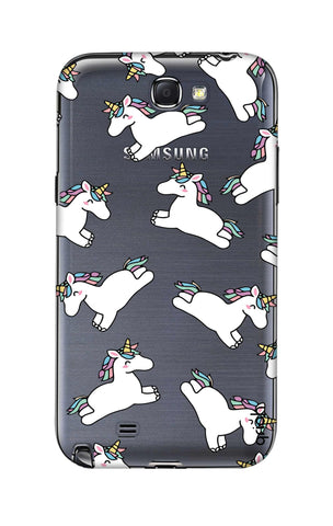 Jumping Unicorns Samsung Note 2 Cases & Covers Online