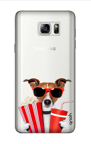 Dog Watching 3D Movie Samsung Note 7 Cases & Covers Online