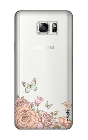 Flower And Butterfly Samsung Note 7 Cases & Covers Online