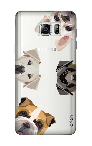 Geometric Dogs Samsung Note 7 Cases & Covers Online