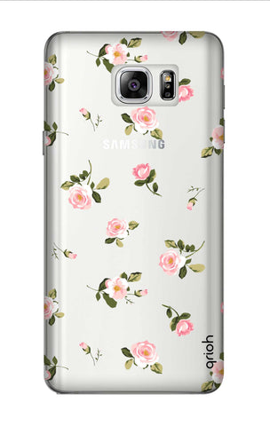 Pink Rose All Over Samsung Note 7 Cases & Covers Online