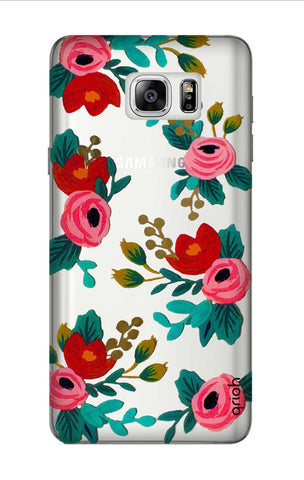 Red Floral Samsung Note 7 Cases & Covers Online