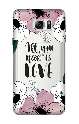 All You Need is Love Samsung Note 7 Cases & Covers Online
