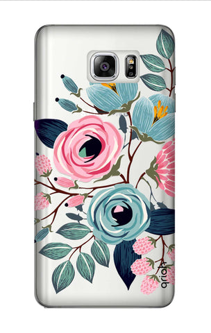 Pink And Blue Floral Samsung Note 7 Cases & Covers Online
