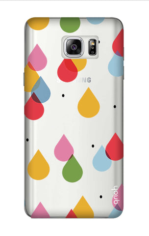 Colourful Drops Samsung Note 7 Cases & Covers Online