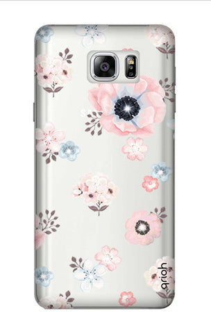 Beautiful White Floral Samsung Note 7 Cases & Covers Online