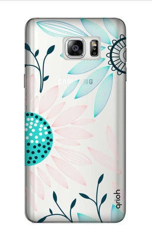 Pink And Blue Petals Samsung Note 7 Cases & Covers Online