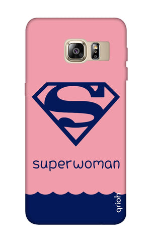 Be a Superwoman Samsung S6 Edge Plus Cases & Covers Online