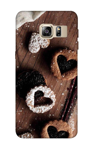 Heart Cookies Samsung S6 Edge Plus Cases & Covers Online