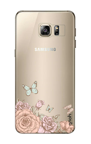 Flower And Butterfly Samsung S6 Edge Plus Cases & Covers Online