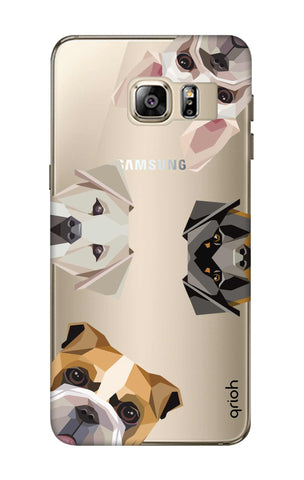 Geometric Dogs Samsung S6 Edge Plus Cases & Covers Online