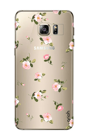 Pink Rose All Over Samsung S6 Edge Plus Cases & Covers Online