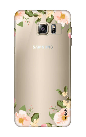 Flower In Corner Samsung S6 Edge Plus Cases & Covers Online