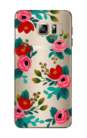 Red Floral Samsung S6 Edge Plus Cases & Covers Online