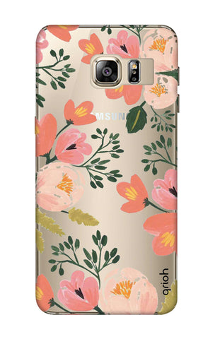 Painted Flora Samsung S6 Edge Plus Cases & Covers Online