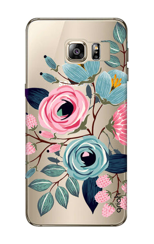 Pink And Blue Floral Samsung S6 Edge Plus Cases & Covers Online
