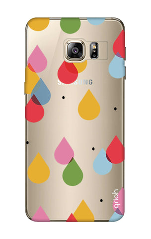 Colourful Drops Samsung S6 Edge Plus Cases & Covers Online