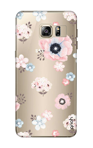 Beautiful White Floral Samsung S6 Edge Plus Cases & Covers Online