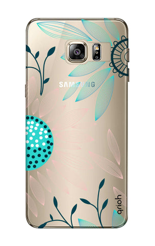 Pink And Blue Petals Samsung S6 Edge Plus Cases & Covers Online