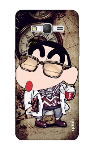 Nerdy Shinchan Samsung Grand Prime Cases & Covers Online