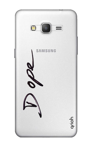 Dope Paint Black Samsung Grand Prime Cases & Covers Online