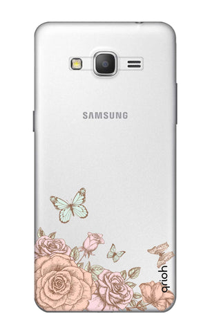 Flower And Butterfly Samsung Grand Prime Cases & Covers Online