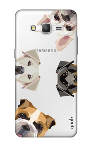 Geometric Dogs Samsung Grand Prime Cases & Covers Online