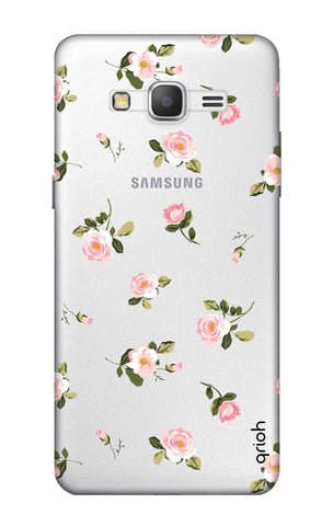 Pink Rose All Over Samsung Grand Prime Cases & Covers Online