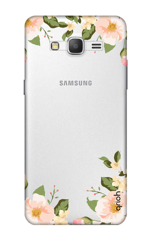 Flower In Corner Samsung Grand Prime Cases & Covers Online
