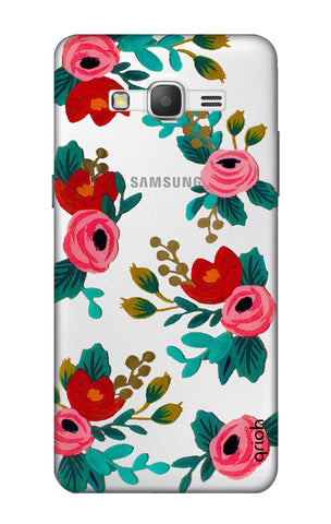 Red Floral Samsung Grand Prime Cases & Covers Online