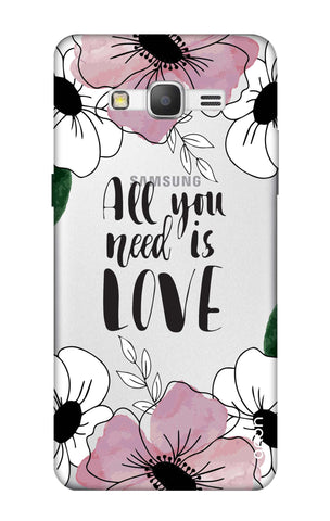 All You Need is Love Samsung Grand Prime Cases & Covers Online