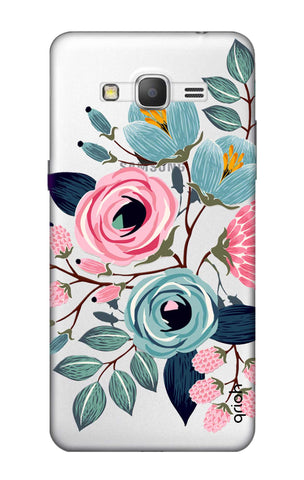 Pink And Blue Floral Samsung Grand Prime Cases & Covers Online