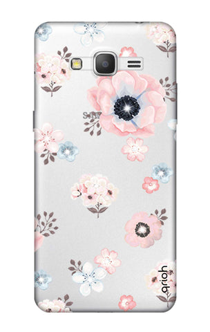 Beautiful White Floral Samsung Grand Prime Cases & Covers Online