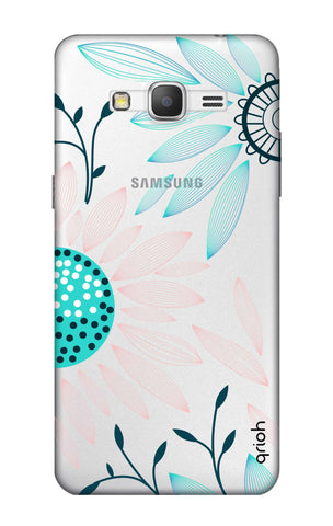 Pink And Blue Petals Samsung Grand Prime Cases & Covers Online