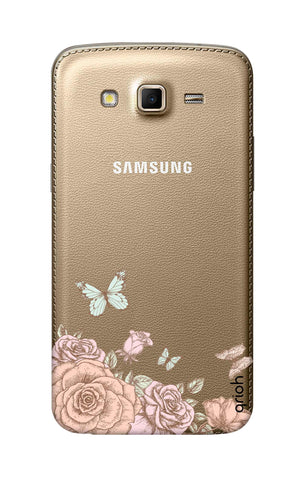 Flower And Butterfly Samsung Grand 2 Cases & Covers Online