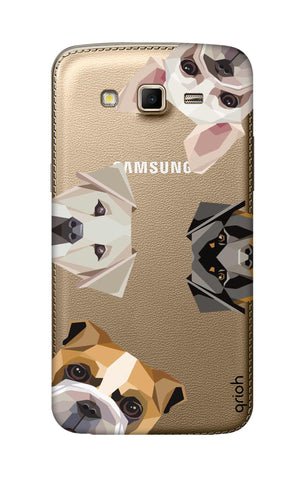 Geometric Dogs Samsung Grand 2 Cases & Covers Online